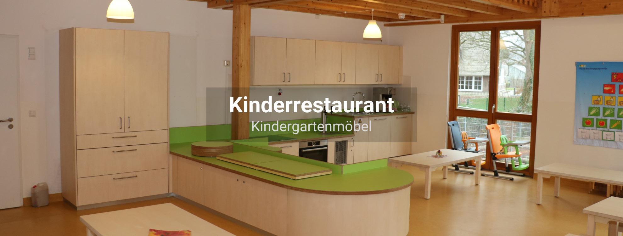 Kinderrestaurant-Kindergartenmöbel